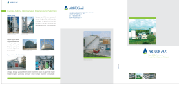 Biyogaz Arıtma, Depolama ve Kojenerasyon Sistemleri