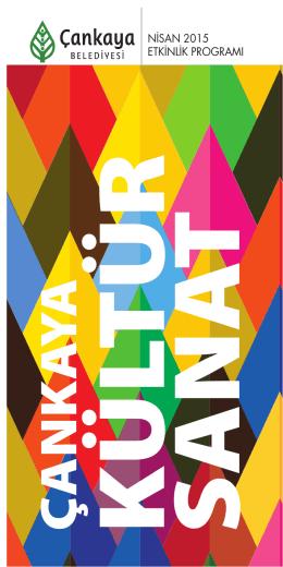 Nisan Ayı Kültür Sanat Rehberi