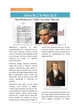 Beethoven – Senfoni No 2