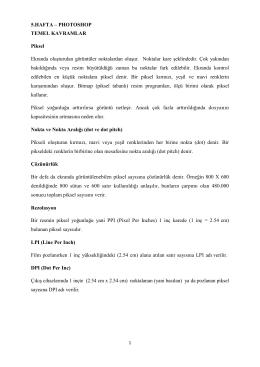 5.HAFTA - Akademik Web Sayfaları