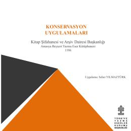 AYEK- Amasya Beyazıt - Türkiye Yazma Eserler Kurumu Başkanlığı