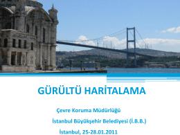 İstanbul Gürültü Haritalama