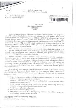 ı - Osmaniye Halk Sağlığı Müdürlüğü