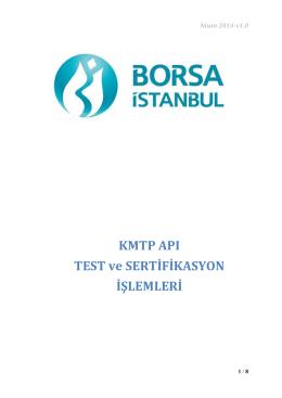İndir - Borsa İstanbul