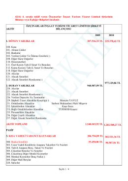 42.b - Özçınarlar Ltd.Şti.