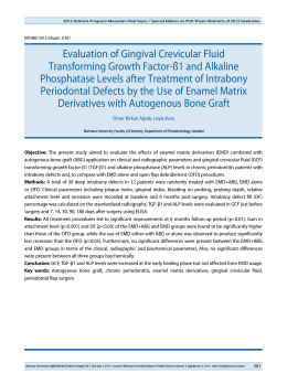 Evaluation of Gingival Crevicular Fluid Transforming