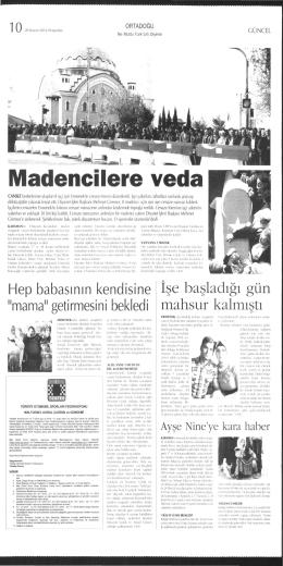 Gazete İlanları - Türkiye Otomobil Sporları Federasyonu