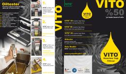 Oiltester - Vito Ürünleri - Vito Türkiye