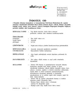 NDOTEX OD - Alfa Kimya