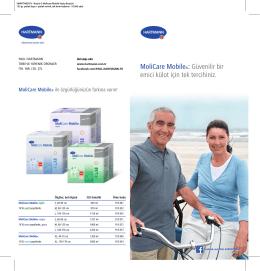 2. Emici külot, MoliCare Mobile broşürü
