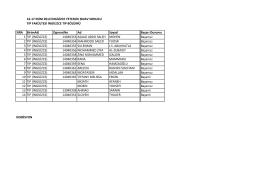 16-17 EKİM 2014 İNGİLİZCE YETERLİK SINAV SONUCU TIP