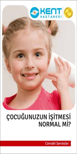 Çocuğunuzun İşitmesi Normal Mi?