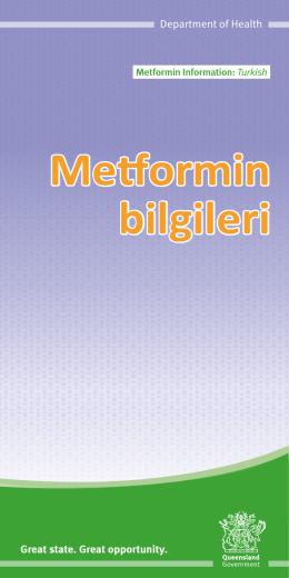GDM Metformin Brochure