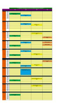 hemşirelik yüksekokulu 2014-2015 güz dönemi final sınav programı