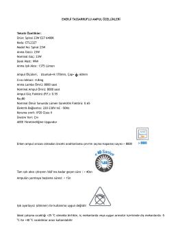 Spiral 23W E27 6400K Kodu: ETL2327 Model No