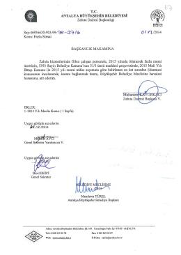 Gündemin 67.Maddesi - Antalya Belediyesi