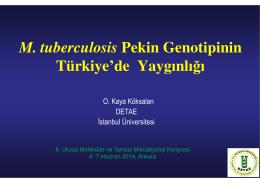 Orhan Kaya KÖKSALAN - 8. Ulusal Moleküler ve Tanısal