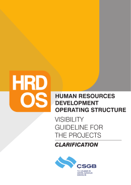 Clarification for HRD OS Visibility Guideline