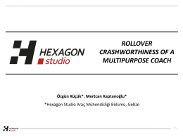 rollover crashworthıness of a multıpurpose coach