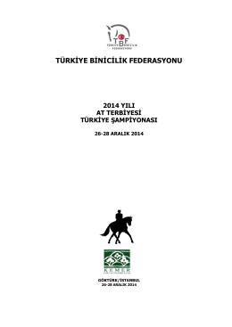 2014 At Terbiyesi Türkiye Şampiyonası