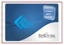 2014 Yılı II. Dönem Eğitim Kataloğu