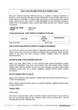 20-211 (i) 2014.12.12 | Türkiye İş Bankası A.Ş. | Ticaret Sicil No