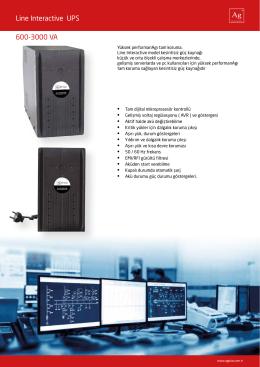 Line Interactive UPS 600-3000 VA