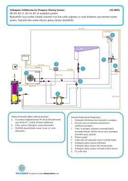Solimpeks Solitherma Isı Pompası Montaj Şeması (SI-4003) (RJ-08