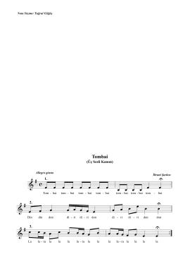 Tombai (Üç Ses İçin Kanon).mus