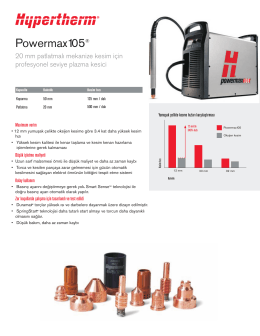 Hypertherm Powermax 105 - ŞahinCNC