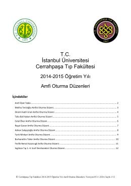 T.C. İstanbul Üniversitesi Cerrahpaşa Tıp Fakültesi