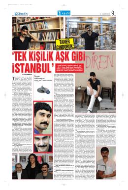 TANER CiNDORUK: - Gazete Kadıköy