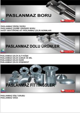 mgs metalinoks katalog bölüm 1 - paslanmaz-boru