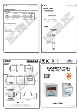 UG-07 KFM User Guide-REV01