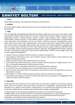 ASB-2014-03 (FOD Yönetimi) dökümanını PDF olarak indir.