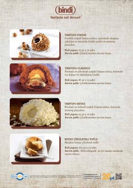 TARTUFO FINDIK Fındıklı soğuk İtalyan tatlısı, çer s nde akışkan ç