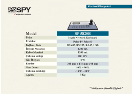 Model SP 5820B - Han Elektronik
