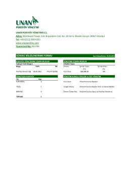 Surekli Bilgilendirme Formu Apr14