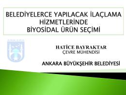 Hatice BAYRAKTAR
