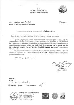 """ı-l]- ıH-hJ], - mut ilçe millî eğitim müdürlüğü"