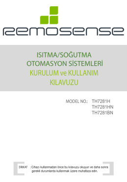 TH-7281 BN - Oda Termostatı