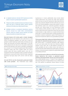 Türkiye Ekonomi Notu