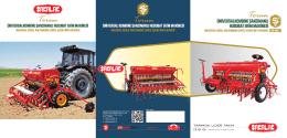 2013 Ürün Kataloğu - Şakalak Tarım Makina