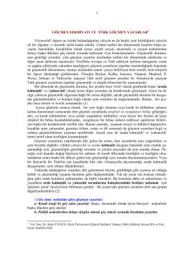İndir (PDF, 270KB) - Prof. Dr. Sabri Eyigün Germanist / Sosyolog