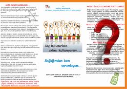 akıllı ilaç.cdr (4).cdr - Bolvadin Devlet Hastanesi