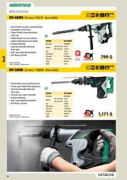 Ürün Broşürü (PDF)