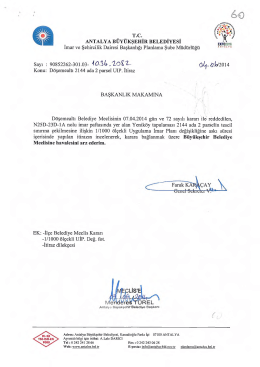 Gündemin 60.Maddesi - Antalya Belediyesi