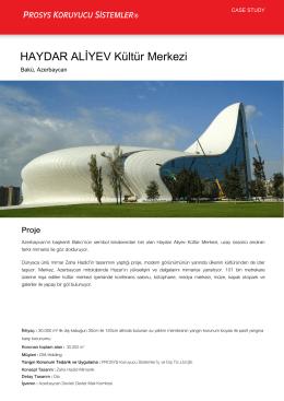 HAYDAR ALİYEV Kültür Merkezi