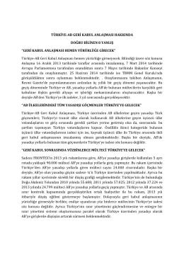 türkiye- ab geri kabul anlaşması hakkında doğru bilinen 8 yanlış