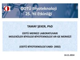 Dr. Tamay Şeker